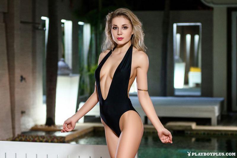 Дарина Литвинова снимается для Плейбоя - секс порно фото