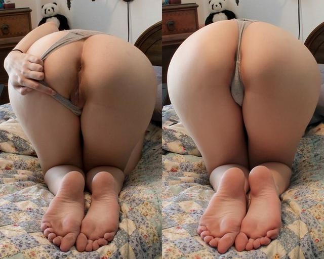 Молодые девушки показали голые попы и бритые киски - секс порно фото